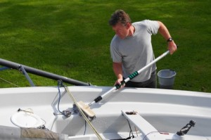 Clean your boat properly before hitting the water